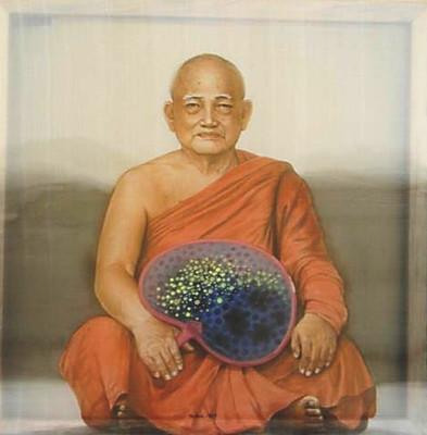 Chân dung thiền sư - Portrait of a Buddh