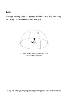 Bài tập số 2 - Exercise No. 2