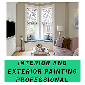 INTERIOR AND EXTERIOR PAINTING PROFESSIO