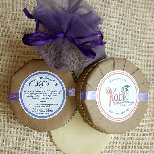Lavendar Cocoa Butter Kabiki Natural Soap