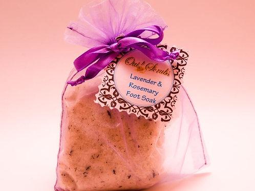 Oui! Scrubs: Lavender & Rosemary Foot Soak