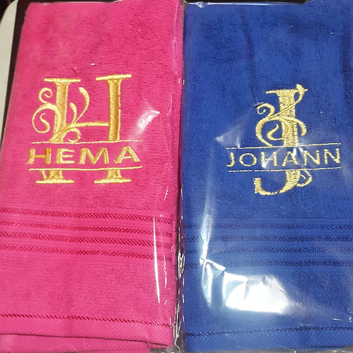 Hand Towels by Klara's Kreations