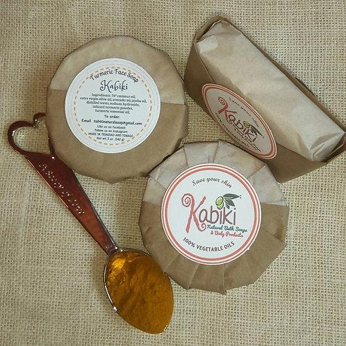 Tumeric Kabiki Natural Face Soap
