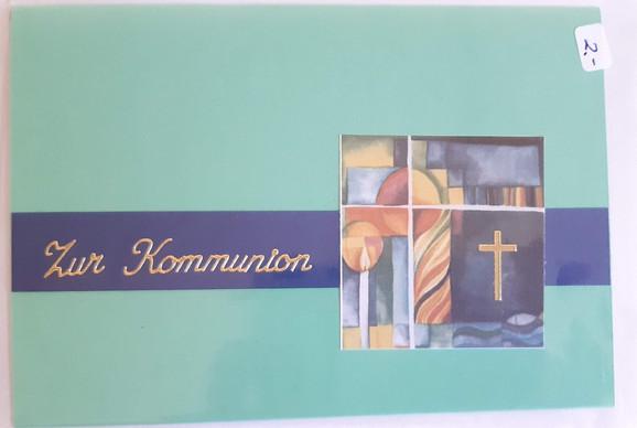 Karte Kommunion  Art.016