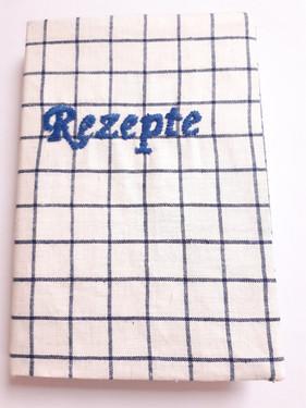 Notizbuch Karo Rezepte