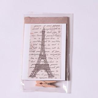 Kleine Karte Eiffelturm