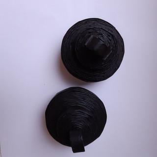 Deckeldose klein schwarz