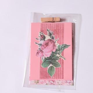 Kleine Karte Rose