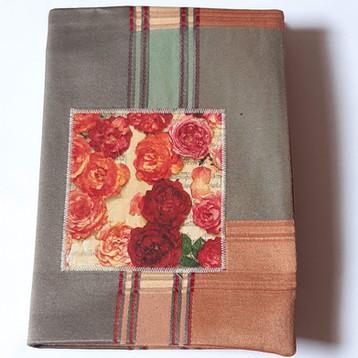 Notizbuch Rosen braun