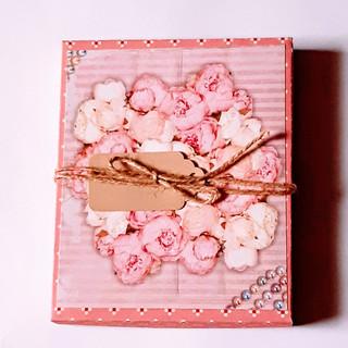 Schachtel Rosenstrauß