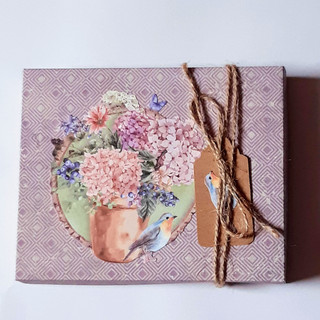 Schachtel Blumenkrug