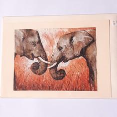 Karte Elefanten