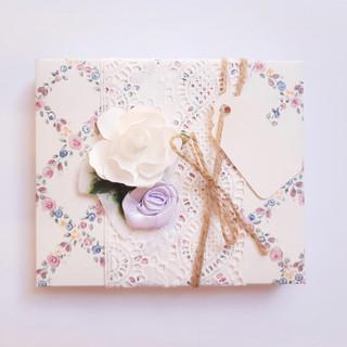 Schachtel Rosen                                Verpackung Art. 007