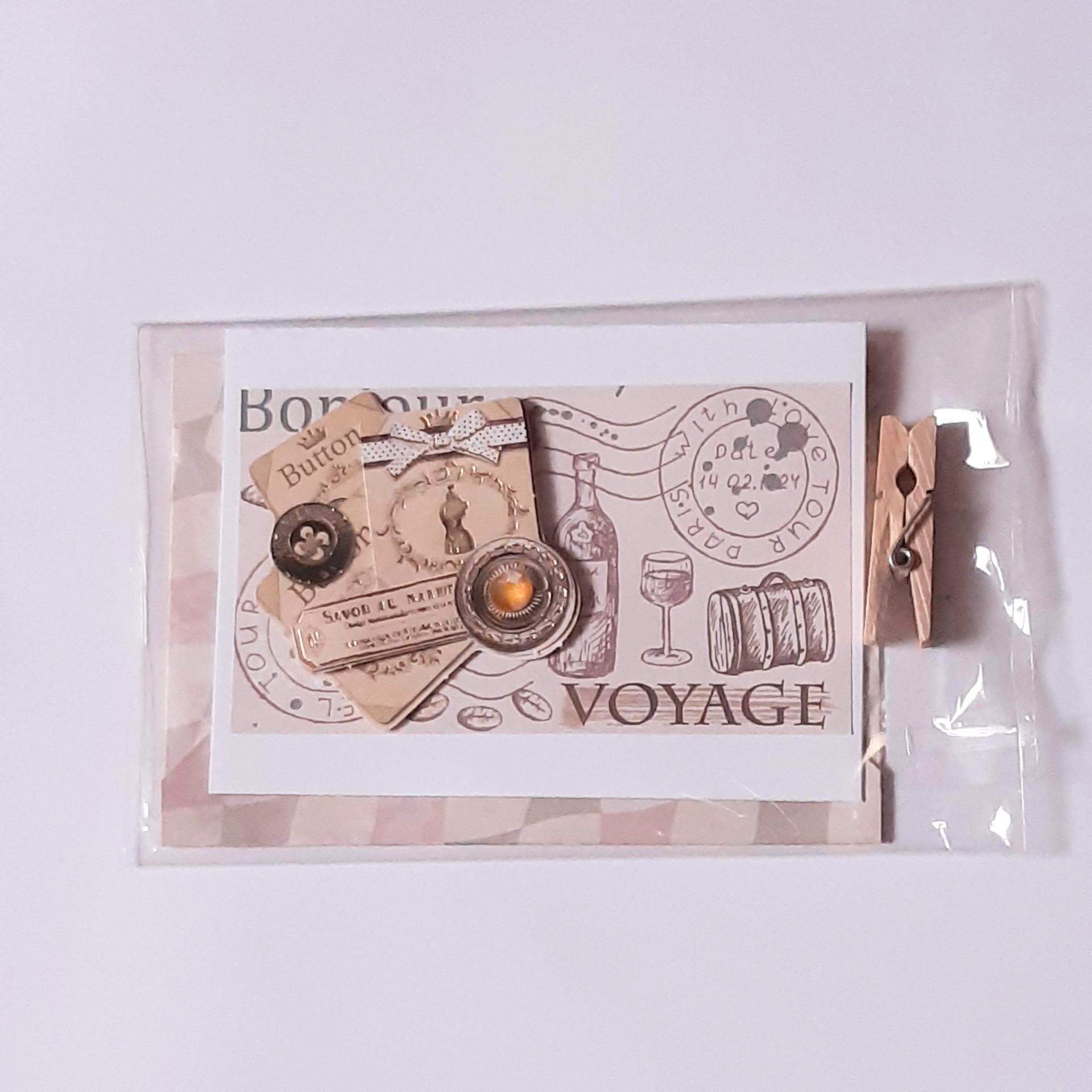 Kleine Karte Voyage