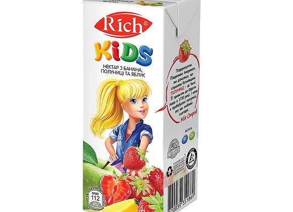 Сок Rich Kids 0.2л