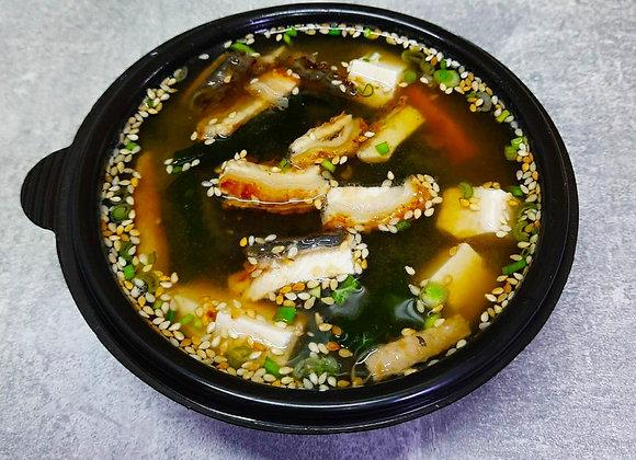 Мисо суп c угрем