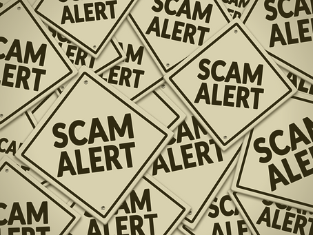Be on Alert for COVID-19 Scams