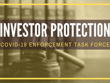 Protecting Investors with New Task Force