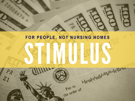 Stimulus Payments for People, not Nursing Homes
