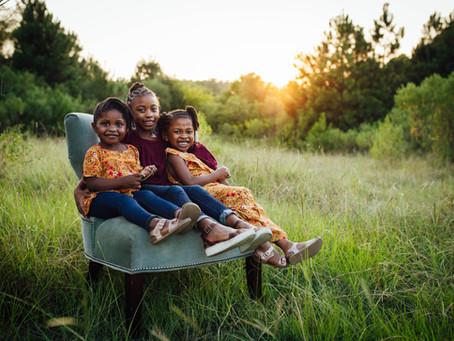 H Family Sunset Mini Session