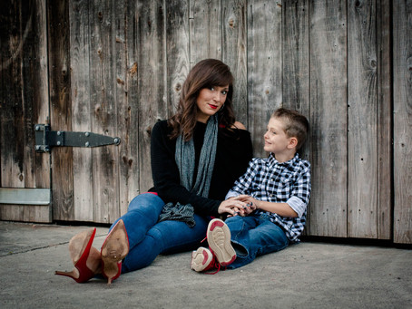 Mother & Son Family Session