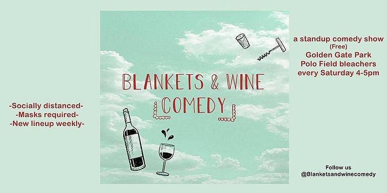 Blankets & Wine Comedy