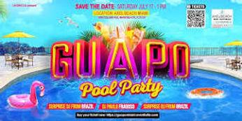 Guapo pool party