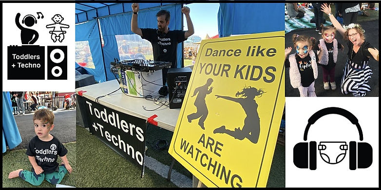 Toddlers + Techno