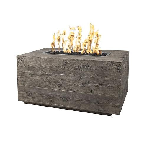 wood grain fire pit
