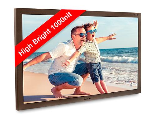 "Full Sun Series- 32"" 1,000 NIT OPTICALLY BONDED OUTDOOR TV"