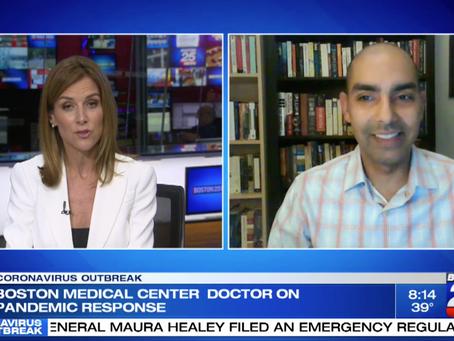 Boston Medical Center doctor on COVID-19 pandemic response