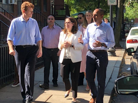 Kennedy Visits Mass/Cass During Kick-Off Weekend State Rep. Santiago 'All In' on Kennedy Senate Run