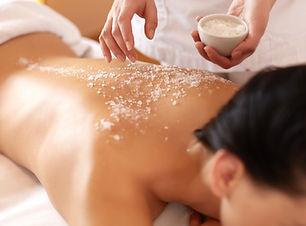 Las sales de masaje