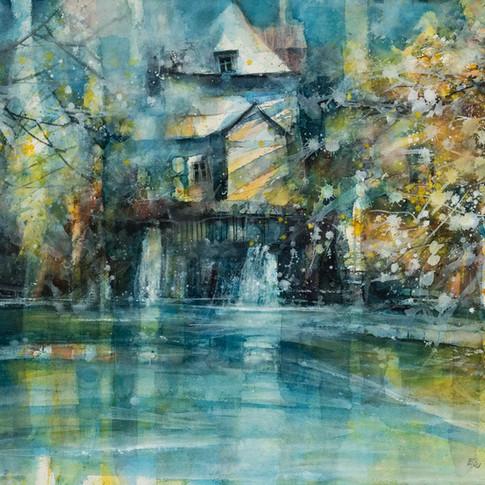 Peinture d'Eric Laurent