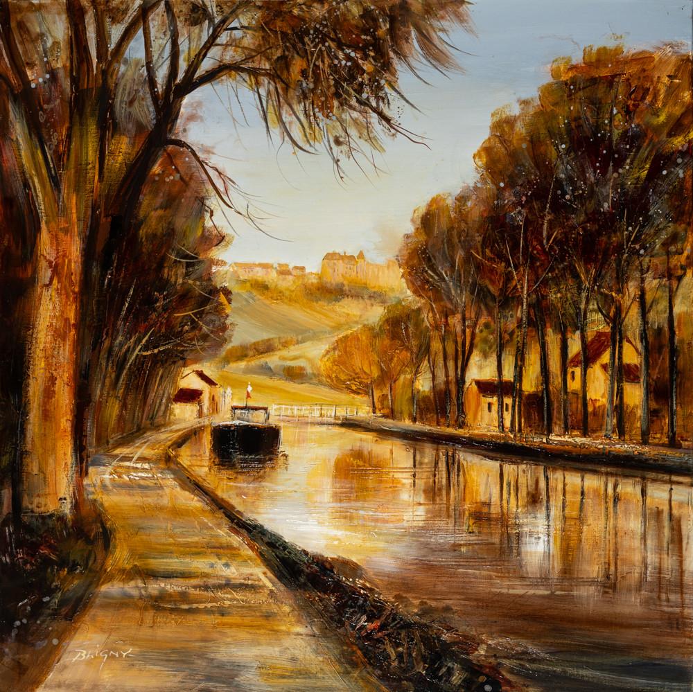 Peinture de Bligny