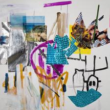 Hitpashtut, Mixed media on canvas, 210x200cm, 2019