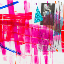 Insideout, 2015, diptych, mixed media on perspex, 120x200 cm, from Continuity, 2017, RawArt Gallery