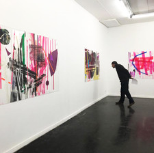 Installaion view, solo show Continuity 2017