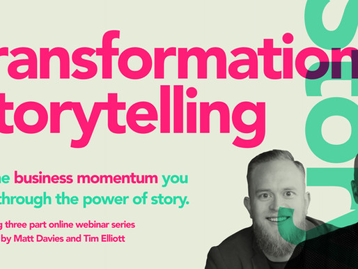 The Transformational Story - 3 Part Course with Tim Elliott