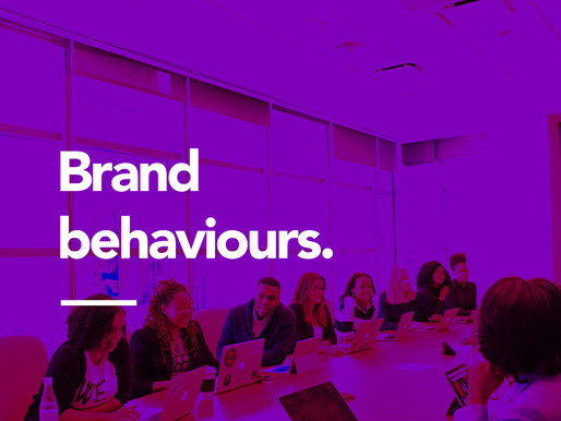 Brand behaviours. How to live your brand purpose and values