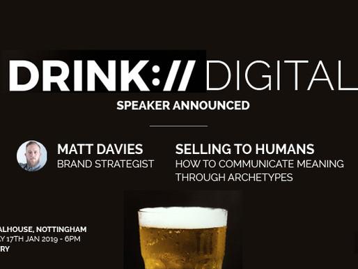 Speaking Announcement: Drink Digital