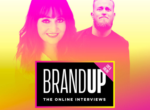 What does CX have to do with Brand? Join me and Victoria Taylor in discussion for BrandUP.