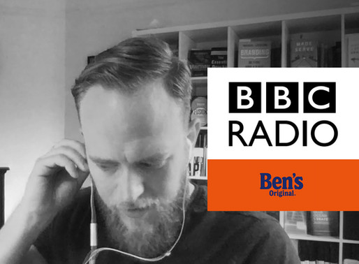 I'm interviewed by the BBC about Uncle Ben's Rice