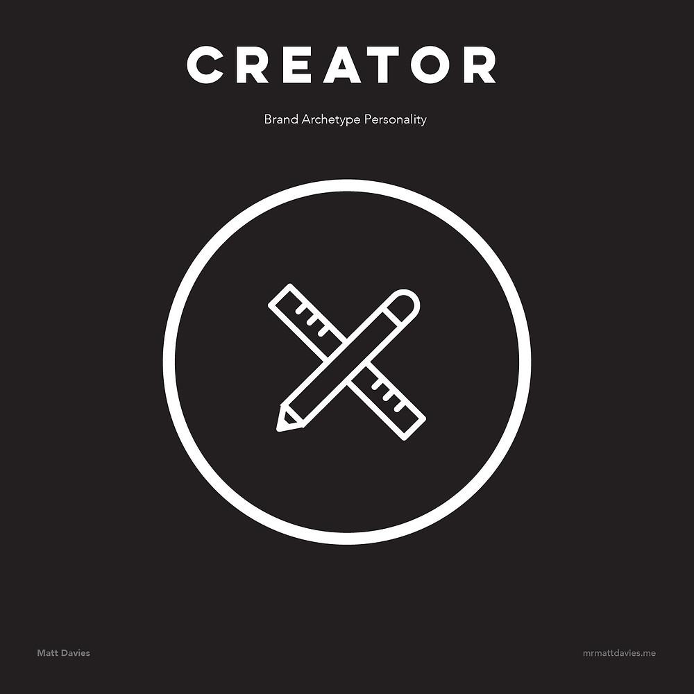 Creator brand archetype personality