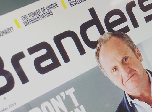 I'm published in [branders] magazine