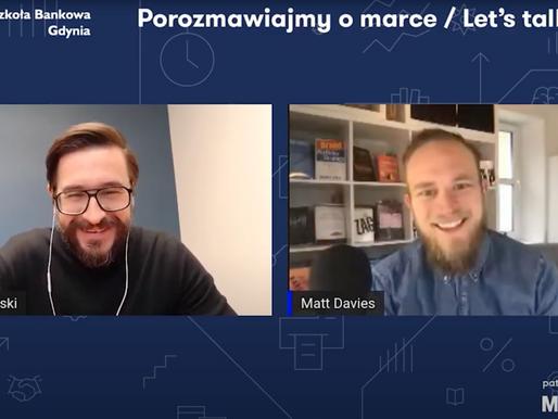 Let's talk brand - full interview for Marketer+ & WSB University Gdansk