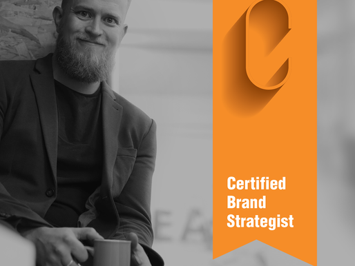 I've been certified as a Brand Strategist by Marty Neumeier