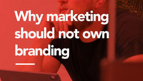 Why marketing should not own branding
