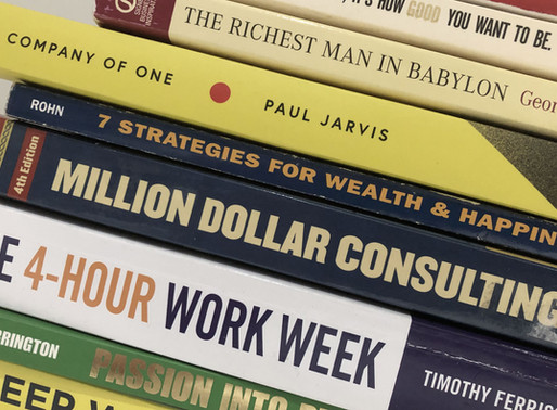 Top ten best business books every solo consultant should read