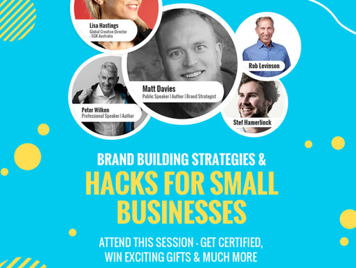 Event: Brand Building Strategies